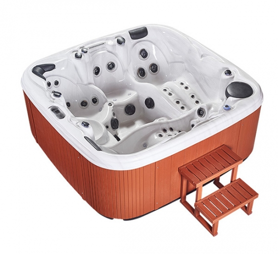 portable outdoor spa